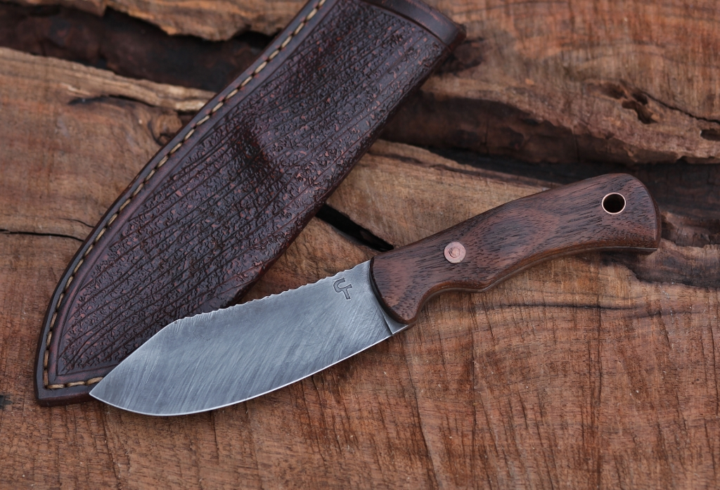 Nessmuk hunter, African rosewood